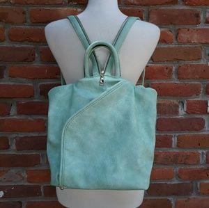 NWOT Backpack Purse Vegan Leather